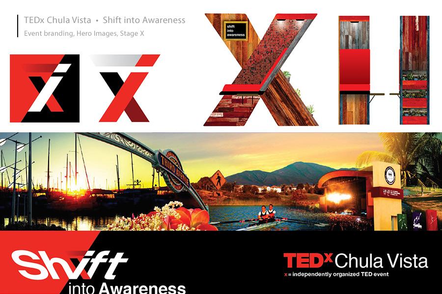 TEDx Chula Vista Brand Identity