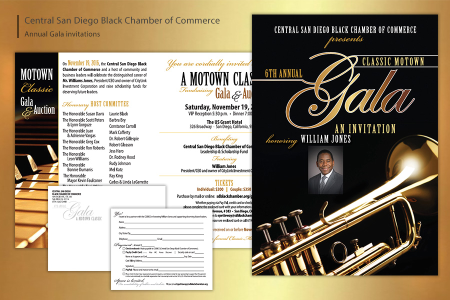 Central San Diego Black Chamber of Commerce Gala