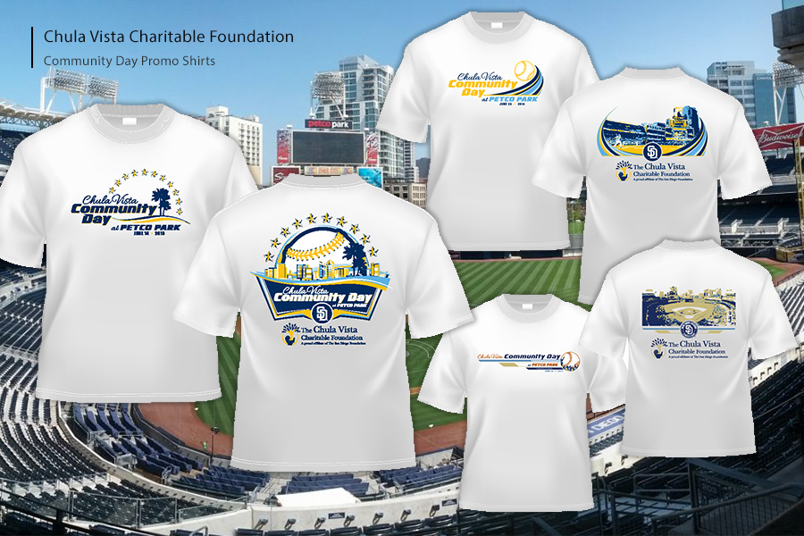 Community Day at the Padres Promo Shirts