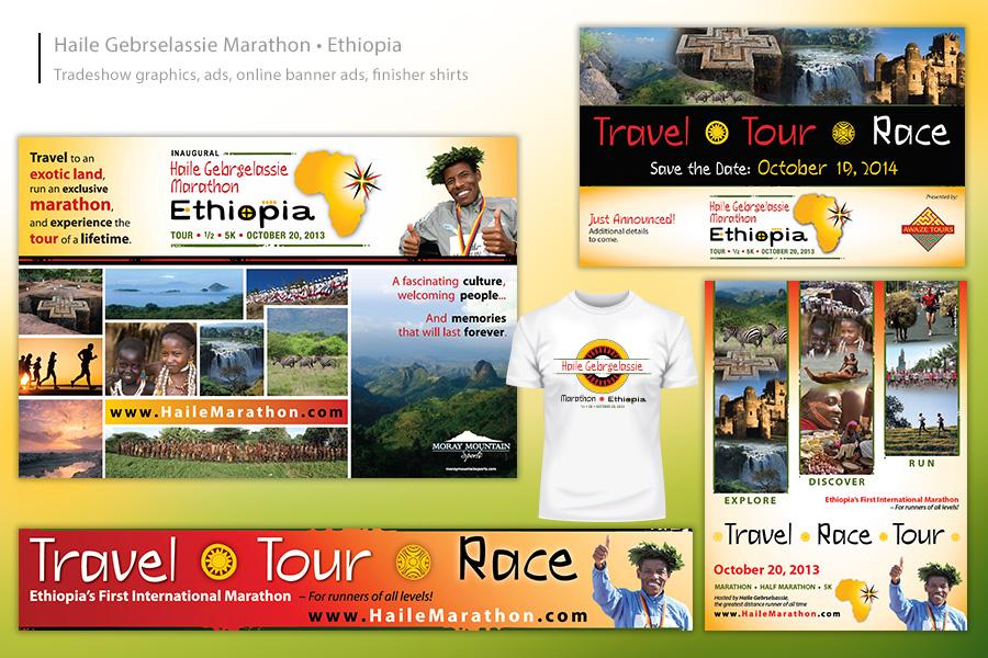 Haile Gebrselassie Marathon - Ethiopia Event Materials