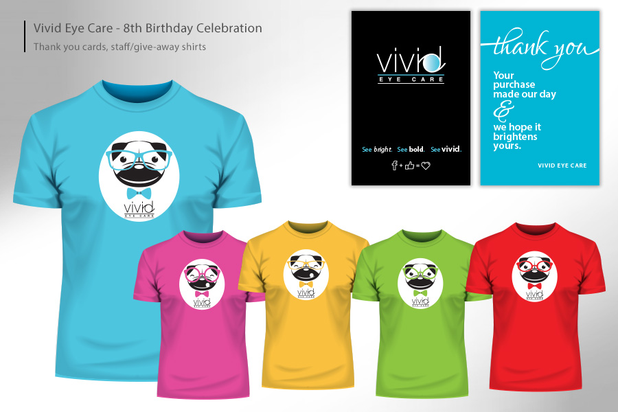 Vivid Eye Care Birthday Celebration Promos