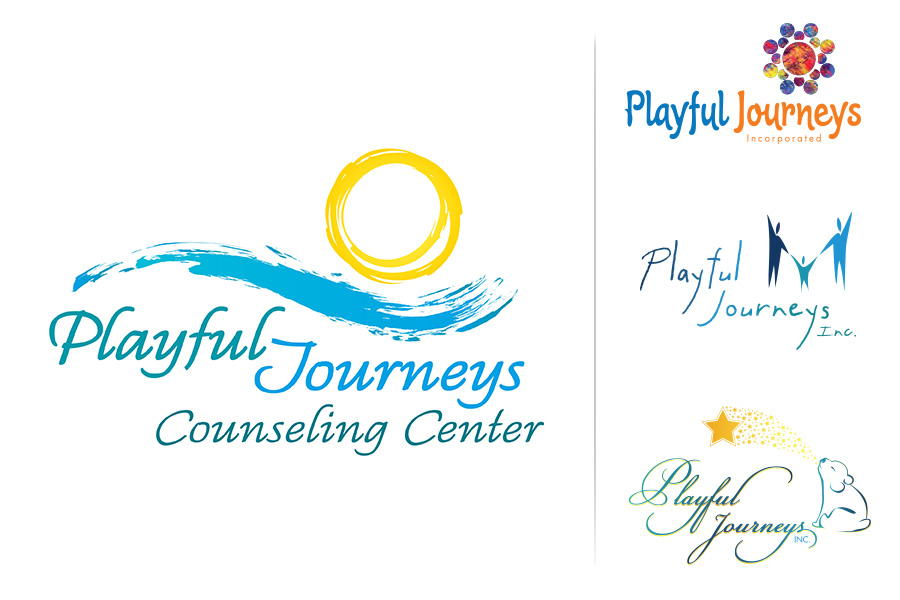 Playful Journeys Counseling Center Logo Design