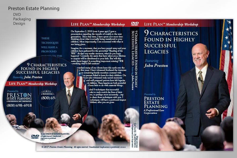 Preston Estate Planning DVD Marketing