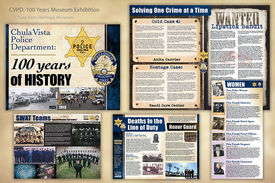 CVPD Museum Exhibition