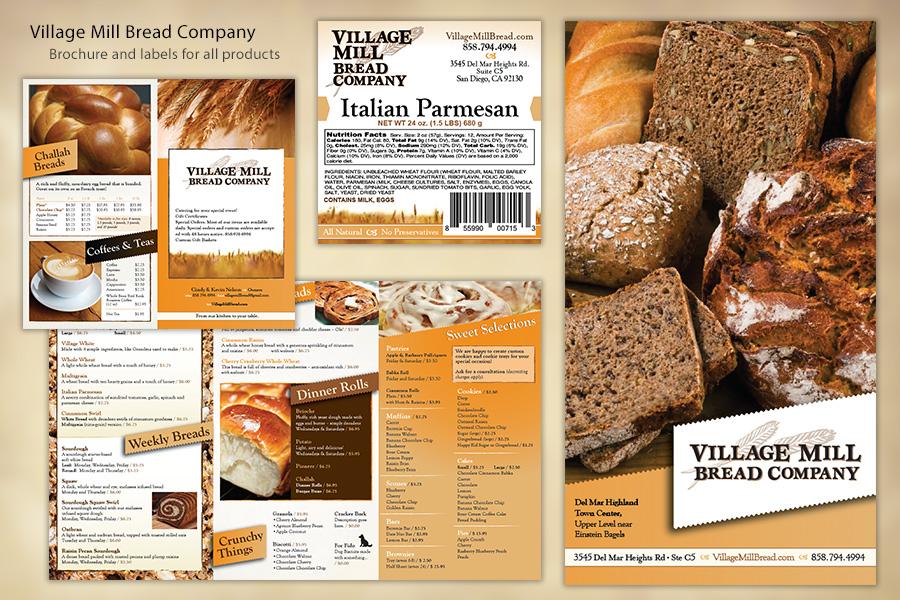 Village Mill Bread Company Marketing