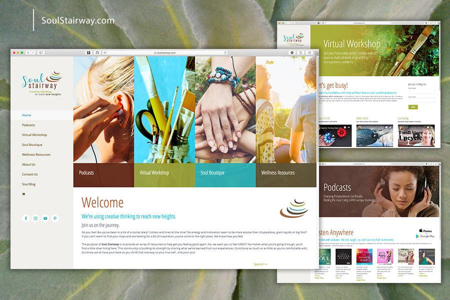 Soul Stairway Website
