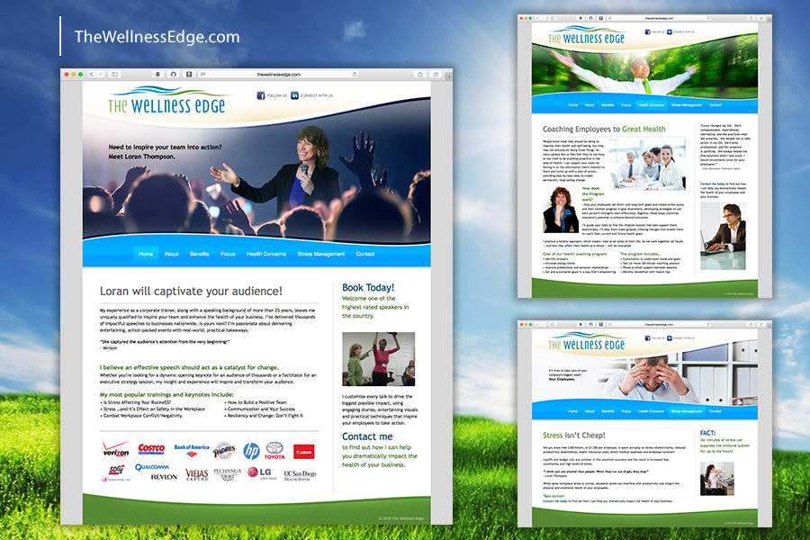 The Wellness Edge Website